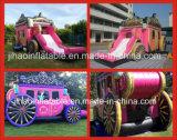 Princesa inflable Bouncer Castle Slide Combo para la promoción