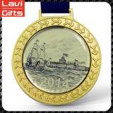 金が付いている昇進によってカスタマイズされるスポーツメダル