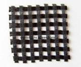 6mx100m/Roll, 30kn/30kn, PVC di allungamento di 13% che ricopre poliestere Warp-Knitted Geogrid biassiale