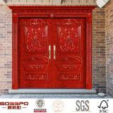 Le type de pain découpant la porte principale conçoit la double porte (GSP1-024)