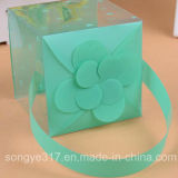 Caixa portátil personalizada PVC da borboleta