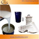Жидкостная силиконовая резина для делать прессформы гипсолита