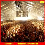 Le tissu en aluminium Event_Large extérieur de PVC folâtre des tentes avec la forme incurvée 30m de 35m