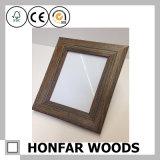 Frame rústico da foto do retrato da madeira contínua da decoração