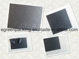100%Polyester schwarzes Microfiber Putztuch-geprägtes Firmenzeichen