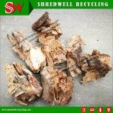 trituradora de madera inútil 90kw para reciclar la madera del desecho/las raíces de madera de la paleta/del árbol