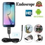 камера 1m/2m/5m/10m OTG пробки Borescope осмотра Android Endoscope объектива 2in1 6LED 5.5mm 7mm 8mm водоустойчивая