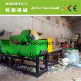 Botttle en plastique de rebut de machine à laver/animal familier de bouteille réutilisant la machine