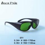 Gli occhiali di protezione del laser di DTY, proteggono la lunghezza d'onda: 800 - 1700nm disponibile per: 980nm, 1064nm, 1320nm, 1470nm per i diodi, ND: YAG