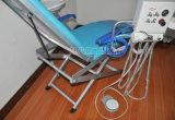 Portable eléctrico de la calidad dental plegable la silla dental barata