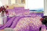 Conjunto barato colorido del lecho de la materia textil de China Suppiler del poliester de la impresión de la cubierta animal de encargo del mismo tamaño casera del Duvet