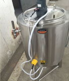 Machines industriellement compatibles de pasteurisation de lait de laiterie d'approvisionnement de stérilisateur de l'acier inoxydable 50L