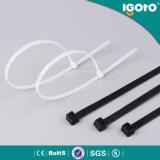 Schwarzer/weißer/bunter Nylonkabelbinder mit aller Größe