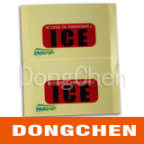 Etiqueta engomada resistente ULTRAVIOLETA impresa reflexiva adhesiva de encargo del coche