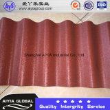 Il colore ha ricoperto lo strato del tetto usato per la decorazione del tetto e della parete