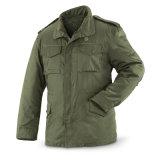 ナイロンまたは綿の軍M65軍隊の黒のアメリカの軍のジャケット