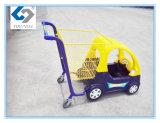 Chariots de haute qualité à achats de bébé pour le supermarché