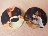 Coaster personalizado do copo de chá da borracha de silicone para beber