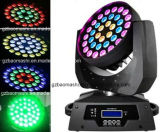 indicatore luminoso capo mobile di 36PCS 10W RGBW LED con lo zoom