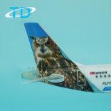 Grens 22cm van de luchtbus A321neo het Plastic Model van Vliegtuigen als Giften voor Luchtvaartmaatschappij