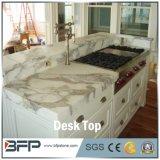 Ufficio di marmo bianco di stile popolare che pranza tavolo rettangolare