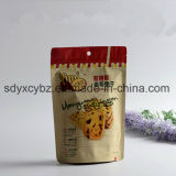 Levantarse la bolsa Ziplock para los frutos secos/la galleta