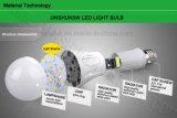 Luz de bulbo plástica 3W do diodo emissor de luz da carcaça E27 6400k A50 250lm