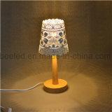 O guia claro da noite da lâmpada de mesa incorpora 5W a noite do grau da cor da faísca morna da cor um navio P para a mesa Lamporterage do quarto