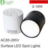 surface neuve de lumière d'endroit d'ÉPI de 3W 5W 9W 12W 15W 18W montée