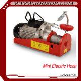 Mini élévateur électrique modèle de câble métallique PA1000