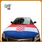 일련의 폴리에스테 차 두건 덮개 깃발 주문 개인적인 로고