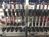 Máquina de rellenar del pistón automático con la limpieza en línea