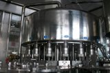 Линия машина автоматического производства жидкостной бутылки /Water/Milk заполняя покрывая