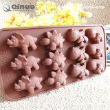 Muffa di gomma del cioccolato dell'alimento inodoro non tossico sicuro di calore anche