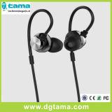 Auscultadores de alumínio do metal com o fone de ouvido da em-Orelha do Mic para Smartphone PC/MP3