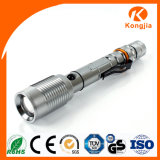 Nachladbare Laterne-Minihandfackel-Licht des Aluminium-LED