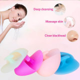 Maquiagem Facial Cleansing Pad Silicone Powder Brush