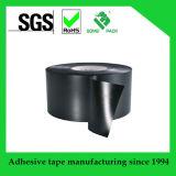 De zwarte Zelfklevende Plastic ElektroBand van pvc