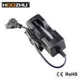 Hoozhu EU/Us 표준 벽 사자 18650 1마리의 슬롯 배터리 충전기