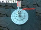Generatore a magnete permanente a tre fasi basso verticale di Generatoar Coreless RPM della turbina di vento del disco di Pmg550 1.5kw 220VAC 100rpm