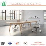 사무실 높은 최고 목제 회의 테이블