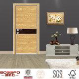 Portes de peau de moulage de mélamine en bois avec les prix bon marché (GSP13-010)