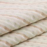 Tela orgánica de Jersey de la muñeca del algodón de la tela orgánica del telar jacquar para la ropa del invierno