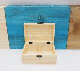 Personnaliser le cadre en bois de pin avec des compartiments