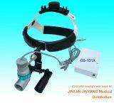 lenti di ingrandimento binoculari chirurgiche dentali 3.5X con l'indicatore luminoso capo del LED