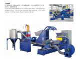 Máquina de granulación caliente forzada del corte del estirador de solo tornillo del alimentador de la amasadora