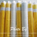 Maille jaune de polyester d'impression d'écran