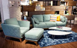 Ls0603豪華な様式ファブリック部門別の居間の家具