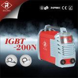 プラスチックケース(IGBT-160N/200N)が付いているMMAの溶接機