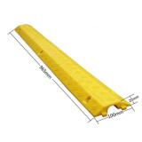 Protezione di gomma del cavo di evento esterno del rivestimento giallo delle 5 Manica